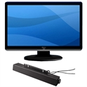 "24"" LED Monitor w/ Soundbar"