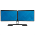 "2 x Dell P2213 22"" LED Monitors w/Dual Stand"