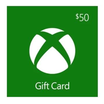 $50 Microsoft Xbox Gift Card Deals