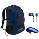 Dell Energy 17-inch Backpack w/Blue In-Ear HeadPhones & WM311 3-Button Wireless Mouse Bundle $79.99