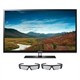 Samsung Series 4 PN51D490 51-inch 720p 3D Plasma HDTV + 2 Pairs of Active 3D Glasses $696.99