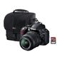 Nikon D3100 14.2 MP Digital SLR Camera w/18-55 mm Lens + Bag + 8 GB Card  $499.99